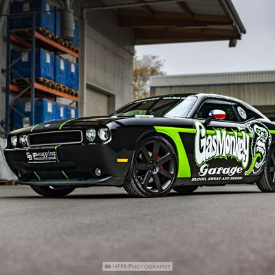 Wall-of-FameDodge-Challenger-GB-Wrapping-Fahrzeugfolierung