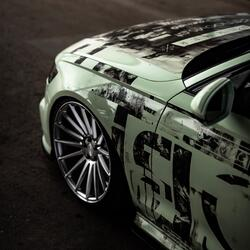 ARTWORK Audi a6 GB wrapping